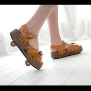 Shoes - Retro Platform Pop Out RollerSkates Sz 7.5